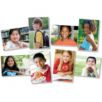 NST3049 - All Kinds Of Kids Elementary Bulletin Board Set in Social Studies