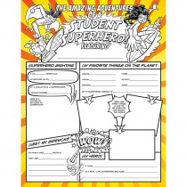 NST3092 - Student Superheroes Activity Poster Fill Me In in Self Awareness