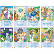 NST3102 - Bulletin Board Set Childrens Bible Songs in Inspirational