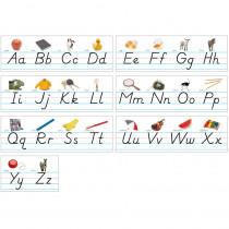 NST9010 - Alphabet Lines Modern Manuscript in Alphabet Lines