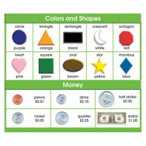 NST9052 - Adhesive Desk Prompts Colors Shapes Money in Desk Accessories