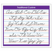 NST9056 - Desk Prompts Traditional Cursive Adhesive in Desk Accessories