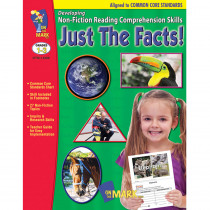 OTM14288 - Just The Facts Gr 1-3 Developing Non Fiction Reading Comp Skills in Comprehension