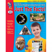 OTM14289 - Just The Facts Gr 4-6 Developing Non Fiction Reading Comp Skills in Comprehension