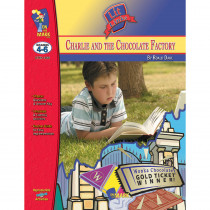 OTM1466 - Charlie & The Chocolate Factory Lit Link Gr 4-6 in Literature Units