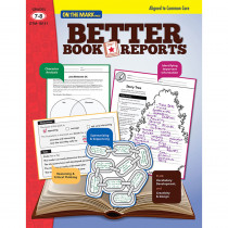 OTM18131 - Better Book Reports Gr 7-8 in Comprehension
