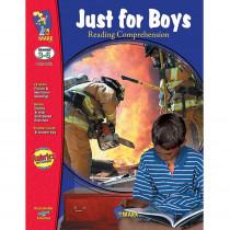 OTM1862 - Just For Boys Reading Comprehension Gr 3-6 in Comprehension