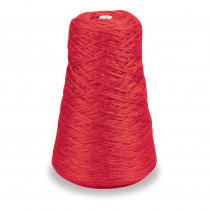 4-Ply Double Weight Rug Yarn Refill Cone, Red, 8 oz., 315 Yards - PAC0002431 | Dixon Ticonderoga Co - Pacon | Yarn