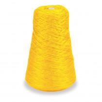 4-Ply Double Weight Rug Yarn Refill Cone, Yellow, 8 oz., 315 Yards - PAC0002481 | Dixon Ticonderoga Co - Pacon | Yarn
