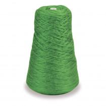 4-Ply Double Weight Rug Yarn Refill Cone, Green, 8 oz., 315 Yards - PAC0002531 | Dixon Ticonderoga Co - Pacon | Yarn