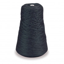 4-Ply Double Weight Rug Yarn Refill Cone, Black, 8 oz., 315 Yards - PAC0002701 | Dixon Ticonderoga Co - Pacon | Yarn