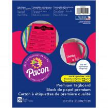 PAC1000024 - Premium Tagboard Rojo Red in Tag Board