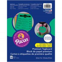 PAC1000029 - Premium Tagboard Emerald Green in Tag Board