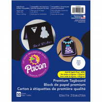 PAC1000031 - Premium Tagboard Black in Tag Board