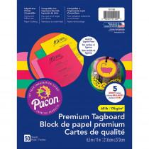 PAC101160 - Hyper Premium Tagboard Assortment in Tag Board