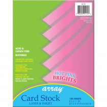 PAC101174 - Array Card Stock Brights Hot Pink in Card Stock