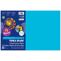 PAC103401 - Tru Ray Atomic Blue 12X18 Fade Resistant Construction Paper in Construction Paper