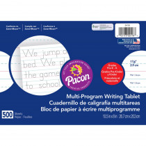 PAC2418 - Handwriting Paper 500 Sht 10.5 X 8 1/8 In Rule in Handwriting Paper
