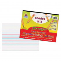 PAC2470 - Multi Sensory 40Sht Handwriting Tablet in Handwriting Paper