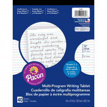 PAC2482 - Writing Paper 40 Sht 8X10.5 1/2 In Short Rule in Handwriting Paper