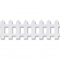 PAC38014 - Picket Fence Roll 6X16 White in Bordette