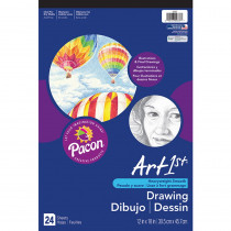 PAC4737 - Art1st Drawing Pad 12X18 in Drawing Paper