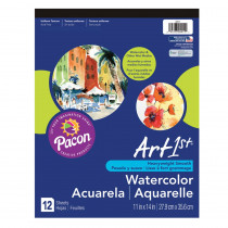 PAC4911 - Art1st Watercolor Pad 11X14 12 Sht in Art