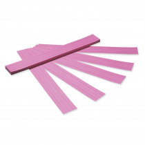 PAC5168 - Sentence Strips Pink Tagboard in Sentence Strips