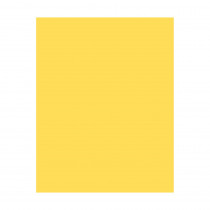 PAC53831 - Poster Board 22X28 Yellow 6 Ply Coated in Poster Board