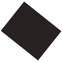 PAC53941 - Poster Board 22X28 Black 6 Ply Coated in Poster Board