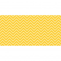 PAC55805 - Fadeless 48X50 Yellow Chevron Design Roll in Bulletin Board & Kraft Rolls