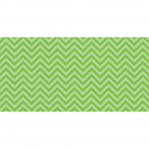 PAC55815 - Fadeless 48X50 Lime Chevron Design Roll in Bulletin Board & Kraft Rolls