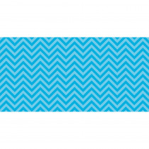 PAC55825 - Fadeless 48X50 Aqua Chevron Design Roll in Bulletin Board & Kraft Rolls