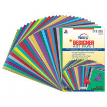 PAC57650 - Fadeless Designer Paper Assorted 12X18 100 Sheets in Craft Paper