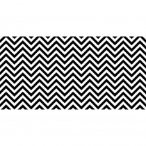 PAC57715 - Fadeless 48X50ft B&W Chevron Design Roll in Bulletin Board & Kraft Rolls