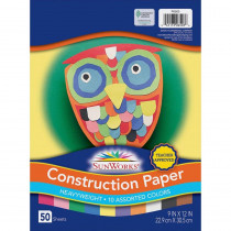 PAC6503 - Construction Paper Assorted 9X12 in Construction Paper