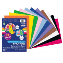 PAC6586 - Tru Ray Smart Stack 9X12 240Ct in Construction Paper