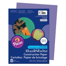 PAC7203 - Construction Paper Violet 9X12 in Construction Paper
