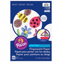 PAC73610 - Fingerpaint Paper 11X16 in Finger Paint Paper