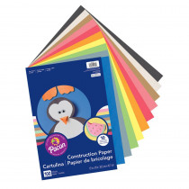 PAC94460 - Construction Paper Assorted 12X18 100 Sht in Construction Paper