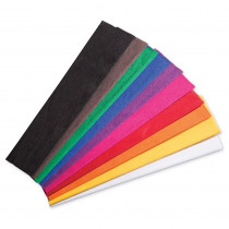 PACAC10250 - 10 Color Asst Crepe Paper Creativity Street in Art