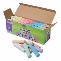 PACAC1752 - Sidewalk Chalk 52 Pcs Assrtd Colors in Chalk
