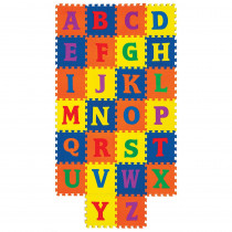 PACAC4353 - Wonderfoam Carpet Tiles Alphabet in Crepe Rubber/foam Puzzles
