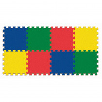 PACAC4355 - Wonderfoam Carpet Tiles Expansion in Crepe Rubber/foam Puzzles