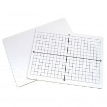 2-Sided Math Whiteboards, XY Axis/Plain - PACAC900810 | Dixon Ticonderoga Co - Pacon | Dry Erase Boards