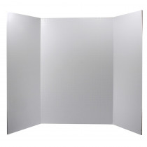 PACCAR12080 - Ghostline Tri Fold Foam Board Wht 28 X 22 in Poster Board