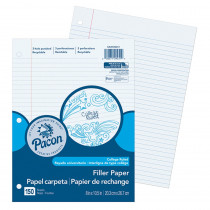 PACMMK09251 - Pacon Filler Paper College Rule 9/32In Ruling in Loose Leaf Paper