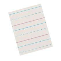 PACZP2613 - Zaner-Bloser Broken Midline Papers 1/2 X 1/4 Short in Handwriting Paper