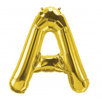 PBN59434 - 16In Foil Balloon Gold Letter A in Accessories