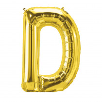 PBN59440 - 16In Foil Balloon Gold Letter D in Accessories